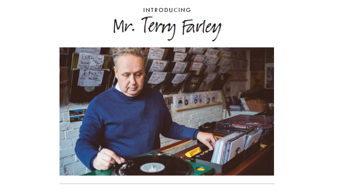 Introducing Mr. Terry Farley