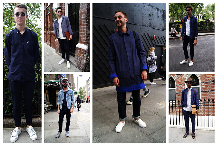 LCM Street Style Trend – All Black and Blue