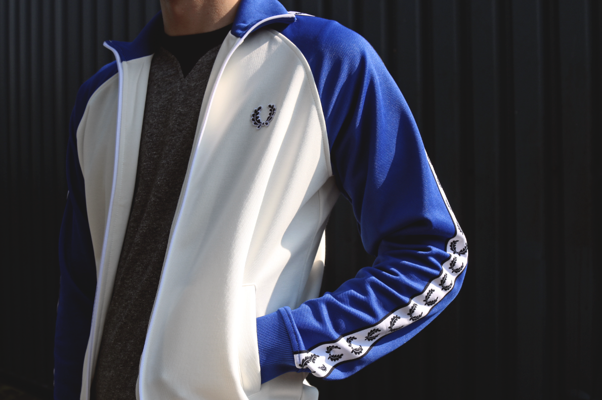 The Fred Perry Track Jacket Represents the Very Best of Retro Sportswear