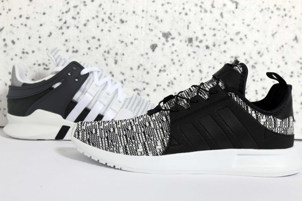 Adidas Originals EQT Support Advance & X_PLR White/Black Primeknit